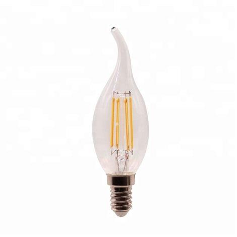 BombillaLED-Filamento-E14-C37-Punta-4W-ambar-en-Caja