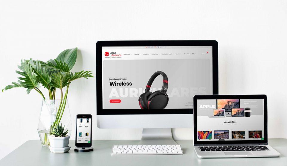 nueva tienda online de informatica tienda logic alhaurin el grande Málaga