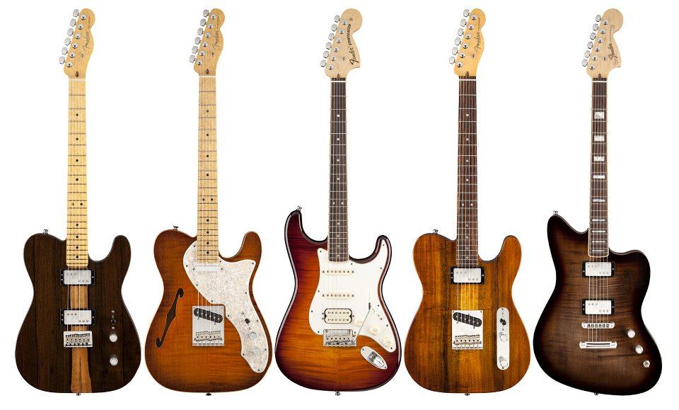 fender select 2013.guitarrras