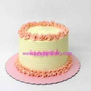 Pastel de Cumpleaños (con buttercream / sin fondant)