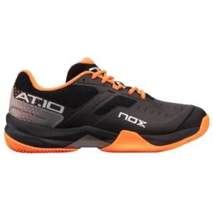 Zapatillas-padel-AT10-Negro-Naranja-nox