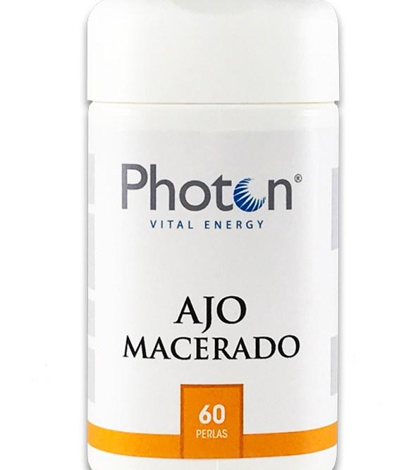 ajo macerado photon capsulas para regular tensión arterial y antibiótico natural