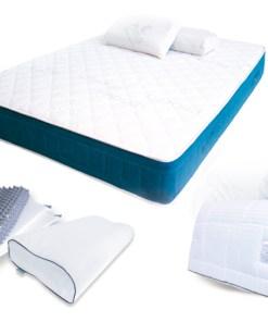 Kit de descanso Photon, colchon edredon y corrector cervical