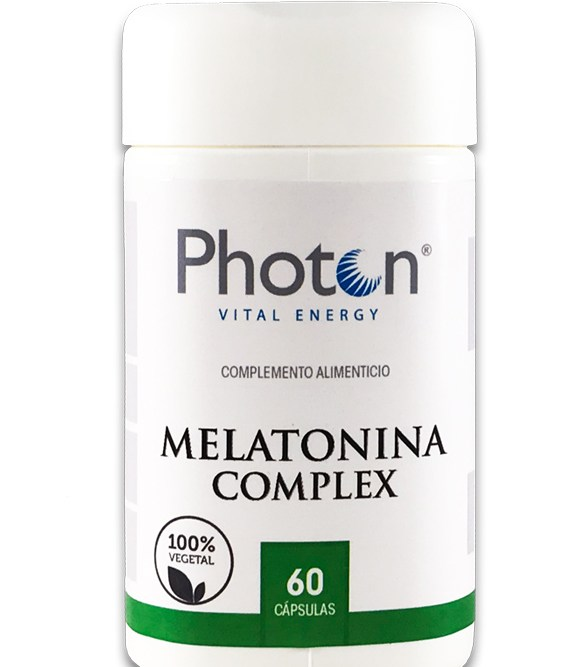 melatonina complex photon capsulas para favorecer el sueño y el descanso