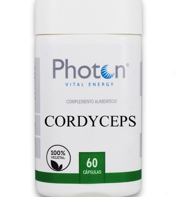 cordyceps photon cápsulas para combatir el estrés y aumentar la energía