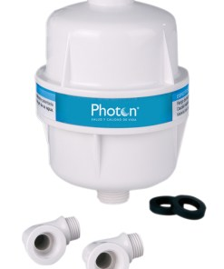 filtro para ducha photon sistema de filtración de agua para el baño diario