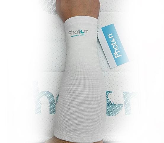 protector de antebrazo Photon, consigue activar la circulación sanguínea, logrando una disminución del cansancio, gracias a su micro masaje continuo