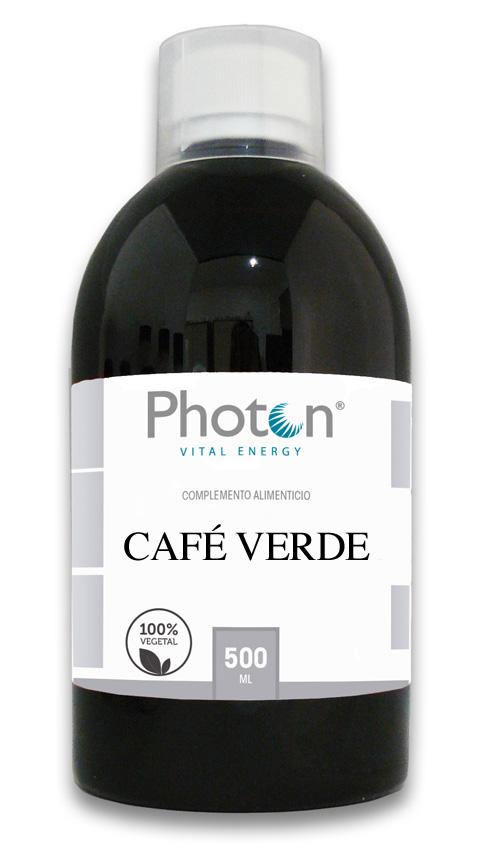 Café Verde Descafeinado Photon Extraído del árbol de café, con propiedades analgésicas, diuréticas y antioxidantes. También tiene propiedades adelgazantes.
