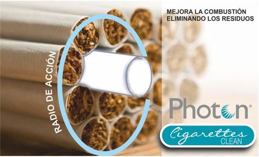 Photon Clean Cigarettes, consigue disminución de la proporción de toxinas del tabaco, haciéndolo más suave, quita las ganas de fumar