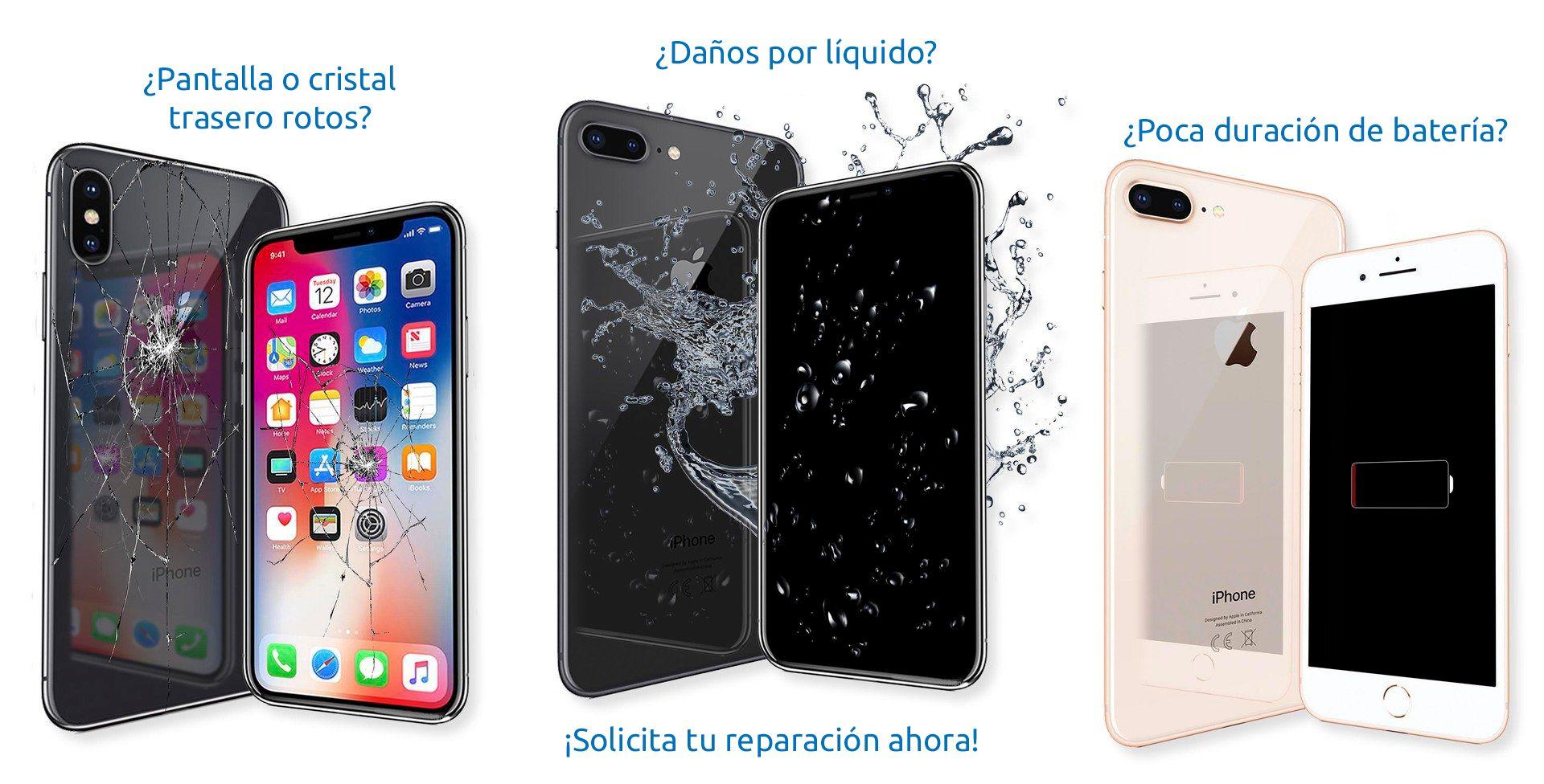 Reparación de teléfonos móviles y tablets