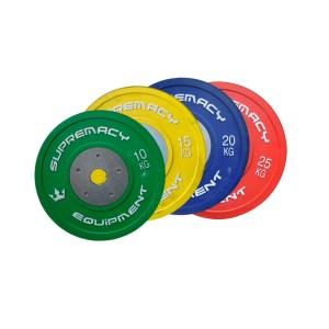 Discos de levantamiento olímpico Suprermacy
