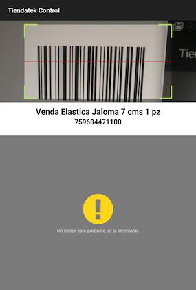 Lector código de barras para tiendas de abarrotes automático