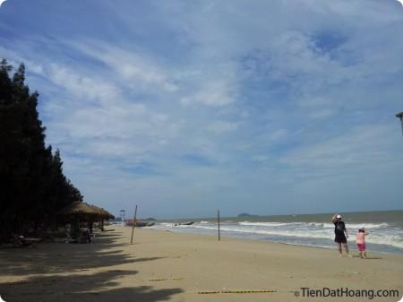 Khu đáng xem nhất của resort Linh Trường: bãi biển