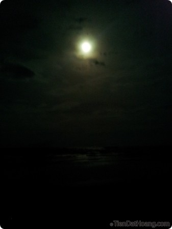 Cũng đã từ rất lâu rồi mới ngẩng mặt lên trời để ngắm trăng