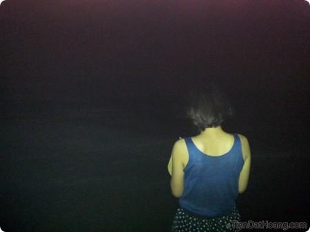 Cô gái trong đêm trăng!