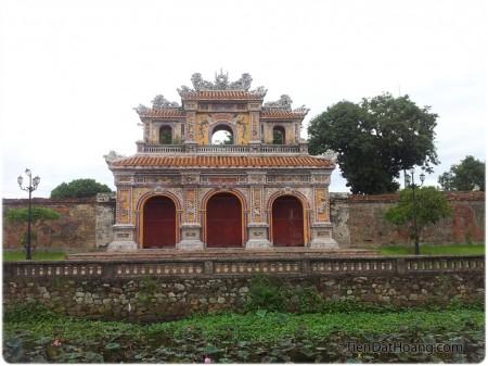 Cổng ở phía Tây Bắc của Hoàng Thành.