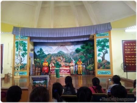 Màn biểu diễn võ Bình Định.