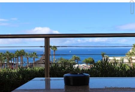 View phía trước khách sạn ở Tenerife.