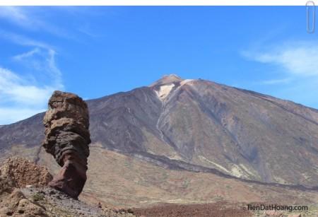Đỉnh Teide - cao nhất ở Tenerife.