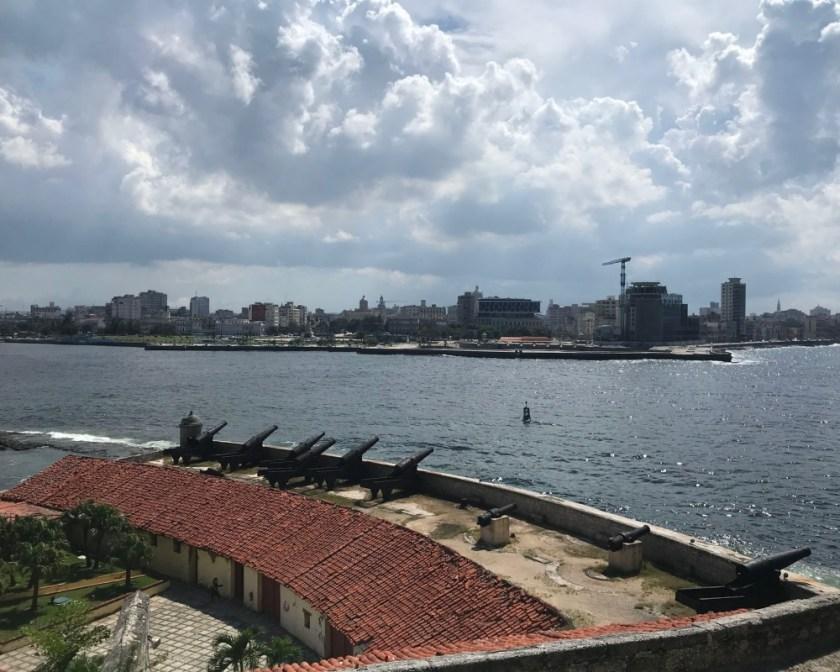 Nhìn về trung tâm Havana.
