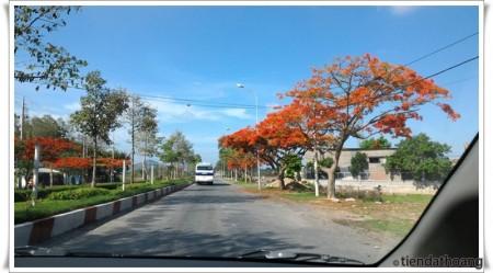 Khu vực đảo Long Sơn (ảnh này ở chuyến đi khác, nhưng để ké ở đây vì... đẹp) :D