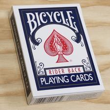 baraja bicycle rider back 808 poker azul