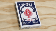 baraja bicycle rider back 808 poker azul