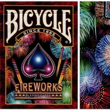 Baraja Bicycle Fireworks Playing Cards