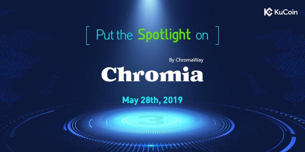 Chromia IEO KuCoin Spotlight
