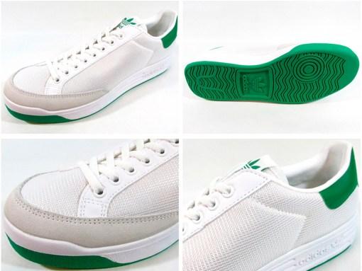 Zapatillas-Rod-Laver-Hombre-verde-blanco mujer