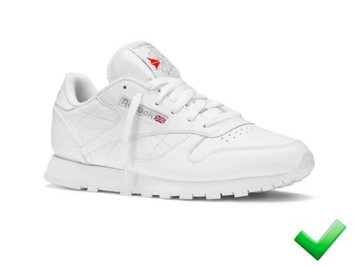 Zapatillas-Rbk Clásicas Master-Mujer-Blanco 2020