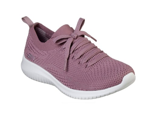 Tenis-Zapatillas-Dama-Mujer-Skecher-Ultra-Flex-Statements-Purpura mod 2020 Fitness