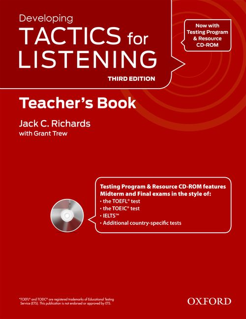 Developing Tactics for Listening 3 Edition Teacher Book