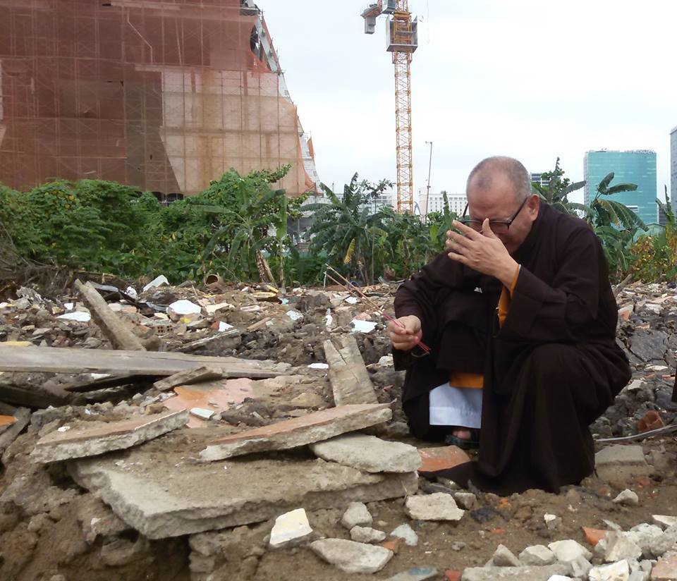 """HT Thích Không Tánh: Tin về việc Hòa Thượng Thích Quảng Độ lên tàu về Thái Bình - """"Mọi diễn biến đều là duyên"""""""