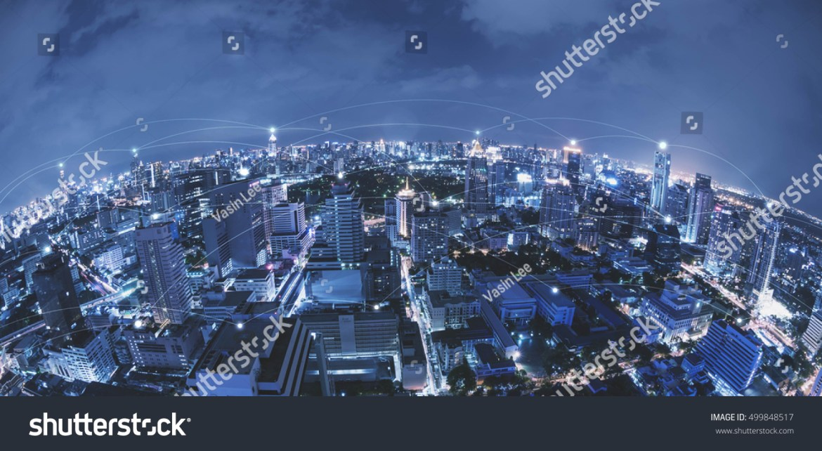 stock-photo-blue-high-tech-tone-of-cityscape-connected-line-technology-concept-internet-of-things-conceptual-499848517
