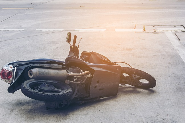 motorcycle accident and injuries