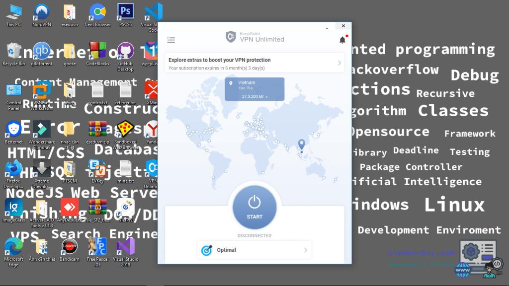 Bản quyền KeepSolid VPN miễn phí