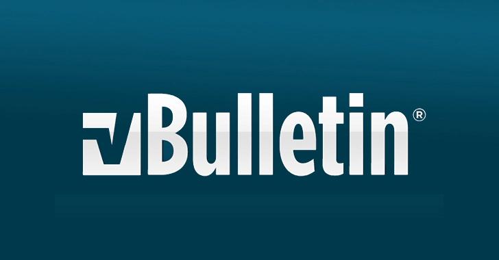 Lỗ hổng 0-Day và lỗi khai thác vBulletin RCE được công khai