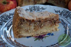 Apfel-Creme Kuchen mit Baiserhaube