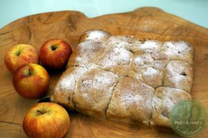 Apfelbuchteln