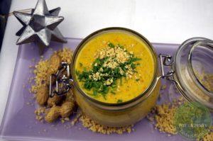 Scharfe-Erdnusssuppe