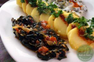 Ispanak Yemeği – Blattspinatpfanne