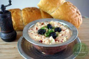 Piyaz – Weißer Bohnensalat