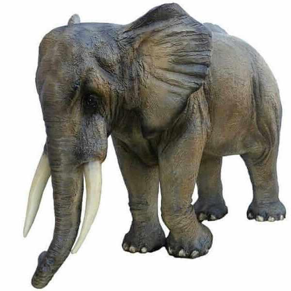 Lebensgroßer Deko Elefant