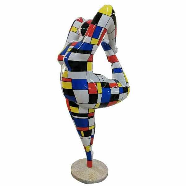 Turnerin Nana Skulptur Acrobatic