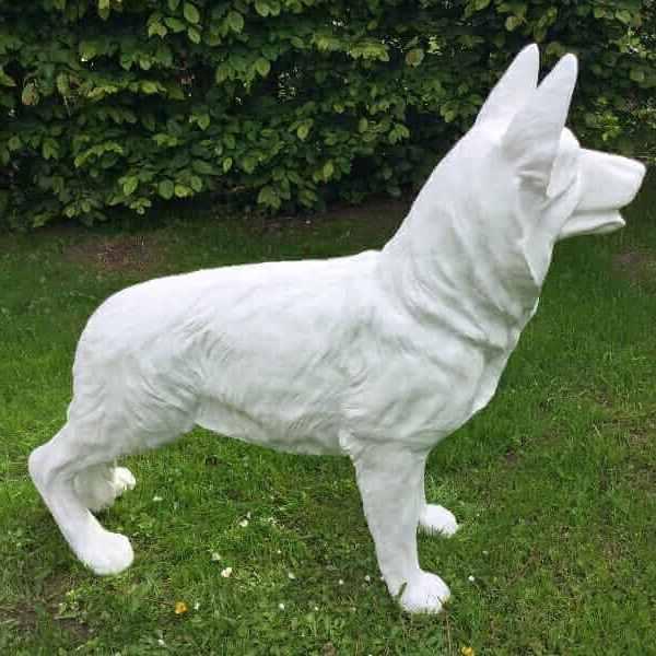 Schäferhund Rohling Skulptur