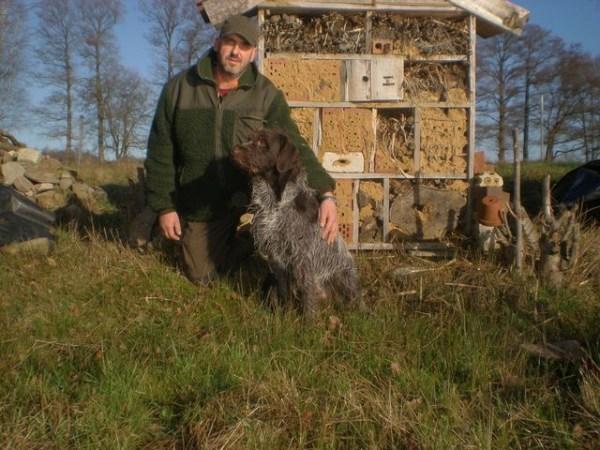 Jens Jadischke erfolgreicher Kaninchenzüchter, leidenschaftlicher Jäger und Tierfreund.