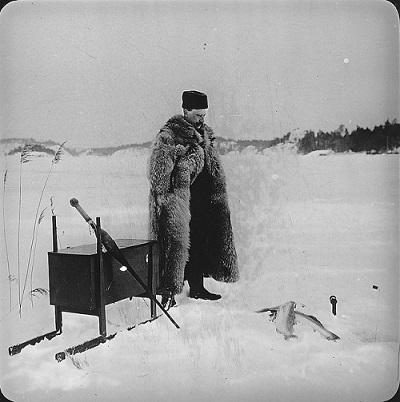 Eisangeln Schweden