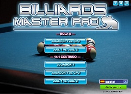 Jugar Billard Master Pro