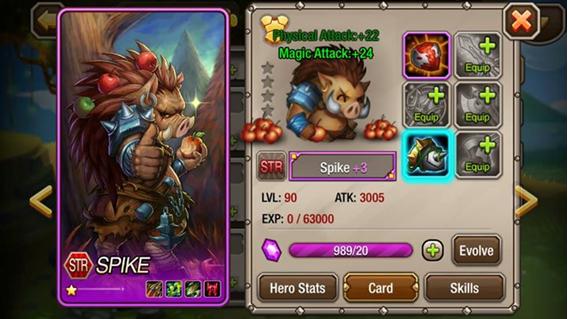 AllStar Heroes - heroe Spike